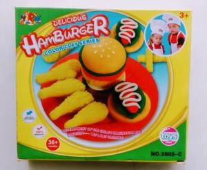 Масса для лепки Гамбургеры