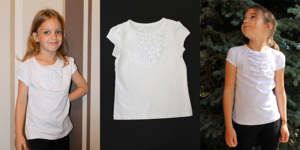 Блузка/футболка белая