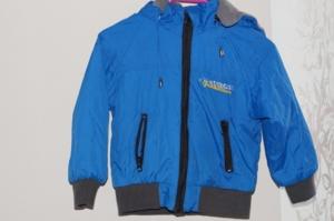 Куртка на флисе р.98