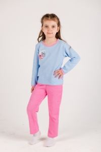 Пижама для девочки (махра)