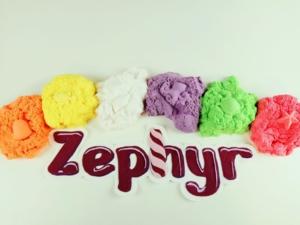 Кинетический пластилин Зефир и песок Лепа