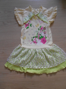 Платье айвари салатное