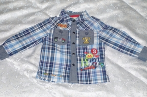 Рубашка на кнопках Sweet Berry р.86