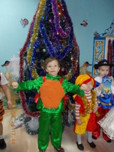 Новогодний костюм зеленый черепашка ниндзя!