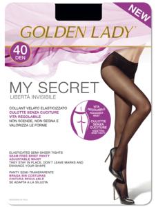 колготки golden lady my secret 40 den р.2, черные