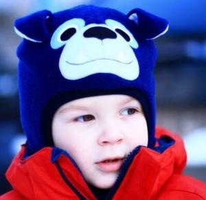 Шлем флисовый на хлопковом подкладе