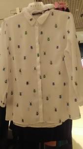 Блузка MOHITO с жуками р.44