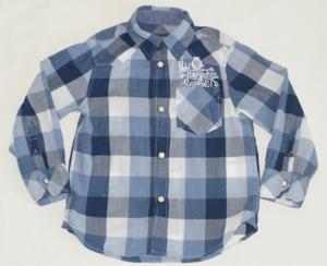 Рубашка H&M на кнопках р.98