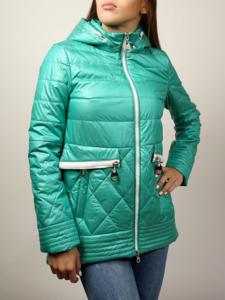 Куртка женская демисезонная (100% холлофайбер)
