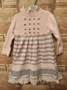Вязанное платье 3-5 лет
