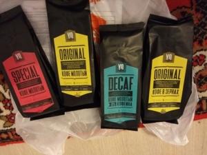 Кофе в зернах и молотый+ПОДАРОК