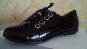 Туфли лаковые черные 36-39 ( распродажа)