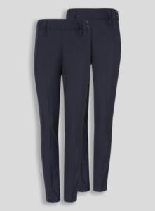 Школьные синие брюки