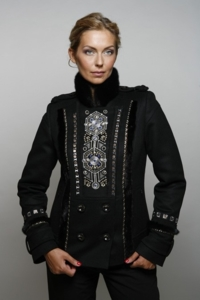 Утепленное пальто Raslov