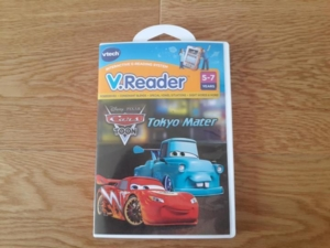 Игра для приставки V.Reader -  Disney's Cars
