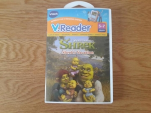 Игра для приставки V.Reader -  Shrek's Vacation