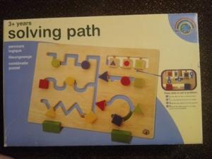 Развивающая игра - Деревянный лабиринт