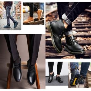 Обувь из натуральной сплит-кожи
