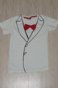 Нарядная футболка р.110-116
