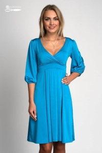 платье GRANDIOZA с рукавами фонариками