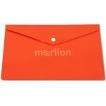 Папка с кнопкой А5 PK804A5NOR оранжевая 180мкм (81
