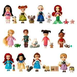 Набор из 12 мини-кукол Disney