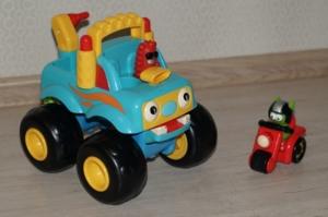 Игрушка-грузовик безумные гонки ELC