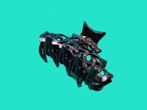 Краб пластиковый чёрный 8см*6цв в уп.№86В