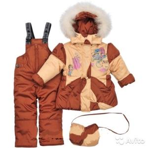 Зимний костюм Лемминг 128-134 цвет золото