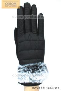 Перчатки женские комбинир. для сенсорных экранов