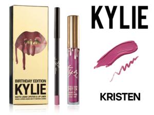 Блеск матовый + карандаш для губ Kylie, KRISTEN