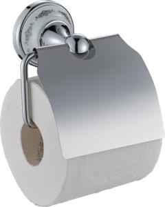 Держатель для туалетной бумаги Swensa с крышкой, 1