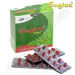Капсулы Eugica Fort усиленного действия с маслами