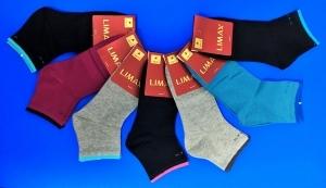 LIMAX носки женские спорт укороченные хлопок