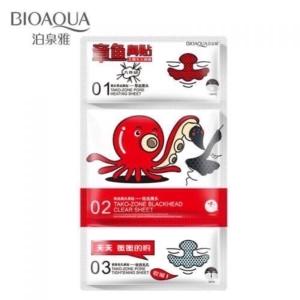BIOAQUA Tako-Zone (маска для Т-зоны,3 этапа)