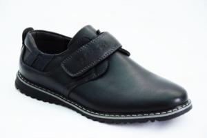 Туфли черные р. 36 на мальчика арт 7756