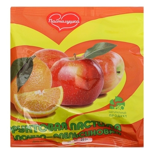 Пастила яблоко-апельсин