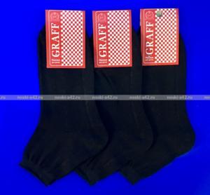 Граф носки подростковые арт. Д-11 черные