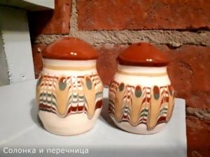 солонка Таволожская керамика