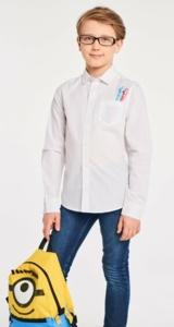 Рубашка белая TM INFuNT 146 р