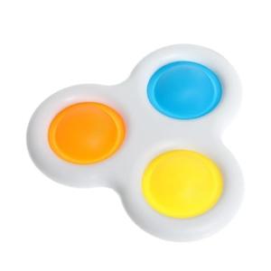Игрушка развивающая «Симпл Димпл», тройная, цвет М