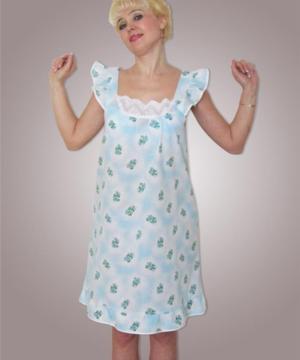medium-Сорочка из ситца, модель 420