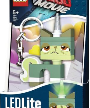 medium-LEGO Movie Брелок-фонарик Queasy Kitty