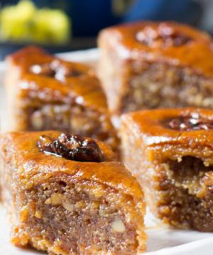 medium-Сочная ореховая пахлава - турецкий десерт!