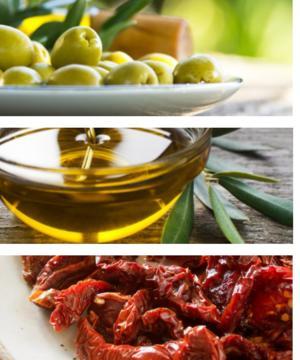medium-Оливковое Масло С О. Крит ♥ Крупные Оливки И Масли
