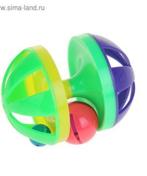 medium-Игрушка-головоломка с шариком-погремушкой, 9 х 6,