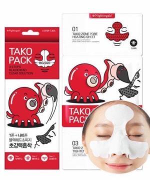 medium-BIOAQUA Tako-Zone (маска для Т-зоны,3 этапа)
