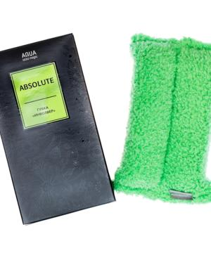 medium-Губка «Инволвер» Aquamagic Absolute зеленая