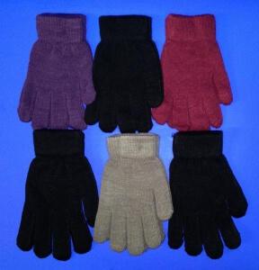 medium-Перчатки женские гладкие ассорти