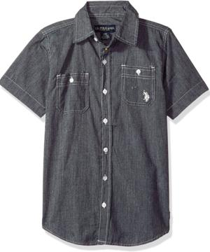 medium-Рубашка U.S. Polo Assn р-р 8 лет
